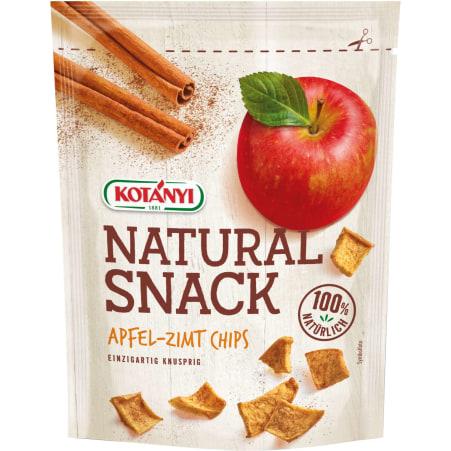 Kotányi Natural Snack Apfel-Zimt Chips