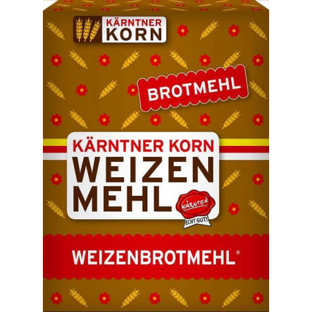 Kärntner Korn Weizenbrotmehl Type 1600