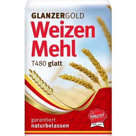 Glanzer Gold Weizenmehl glatt Type 480