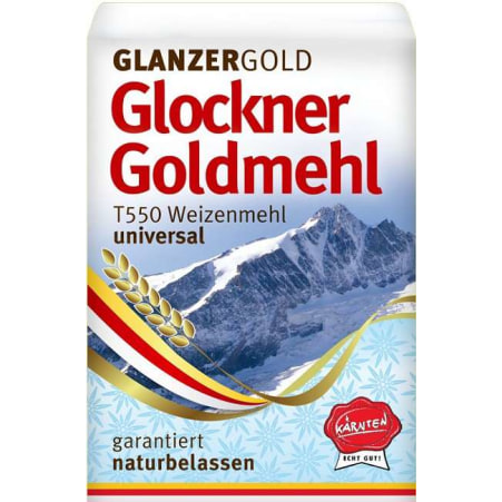 Glanzer Gold Glockner Goldmehl universal Type 550