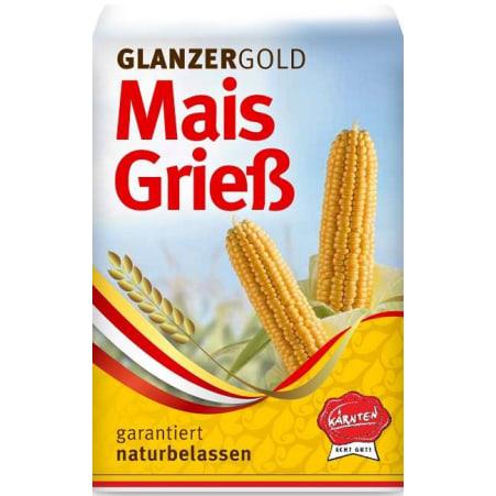 Glanzer Gold Maisgriess garantiert naturbelassen