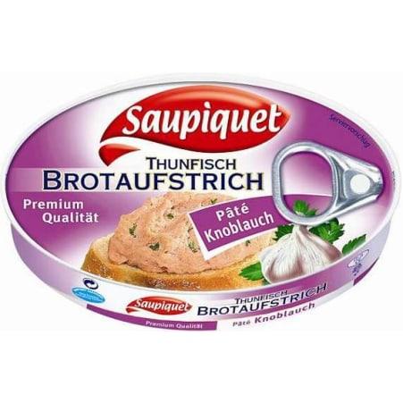 Saupiquet Thunfisch Brotaufstrich mit Knoblauch