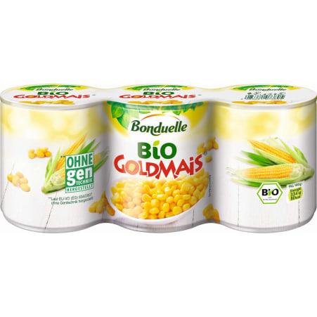Bonduelle Bio Goldmais 3er-Packung