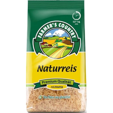 Farmer´s Country Naturreis parboiled