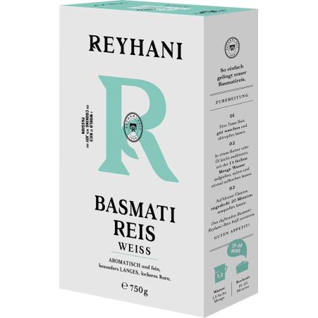 Reyhani Basmatireis weiß