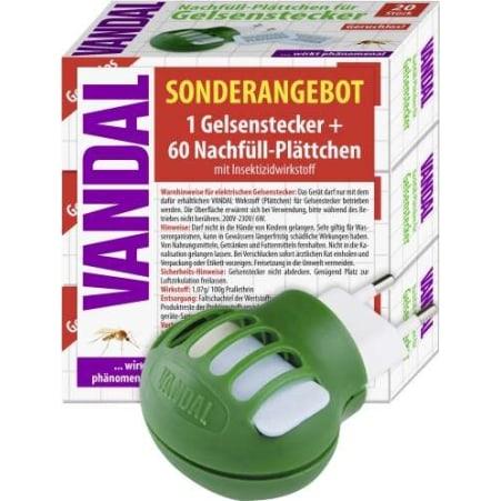 VANDAL Gelsenstecker mit Nachfüller 60er-Packung