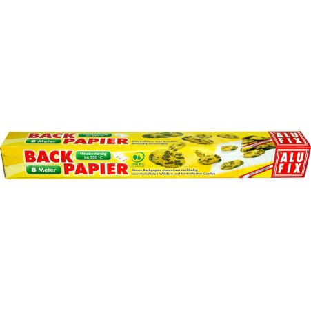 AluFix Backpapier