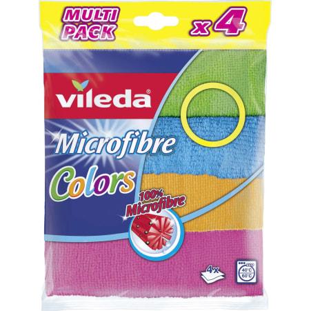 VILEDA Microfaser Allzwecktuch 4er-Packung