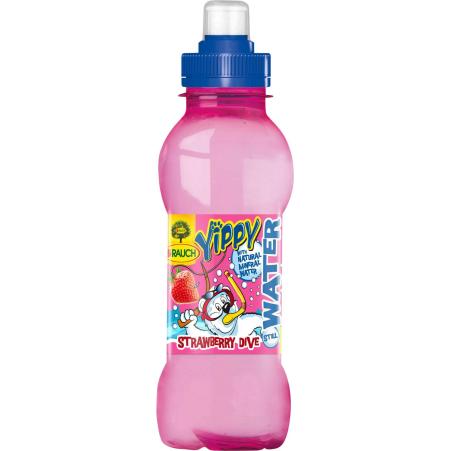 Rauch Yippy Water Strawberry 0,33 Liter