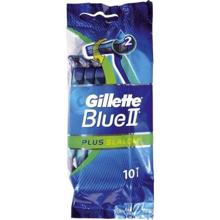 Gillette Blue 2 Plus Slalom Einwegrasierer 10er-Packung