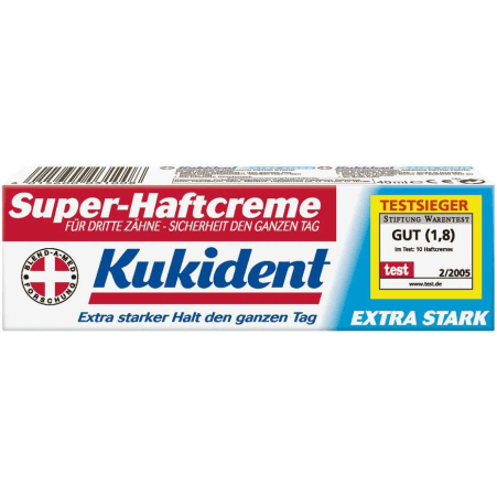 Kukident Haftcreme Extra Stark