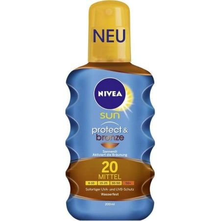 NIVEA Ölspray Schutz & Bräune SPF20