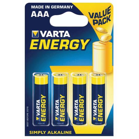 VARTA Energy Micro 4er-Packung