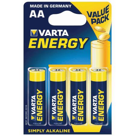 VARTA ENERGY AA Blister 4 Energy Mignon 4er-Packung
