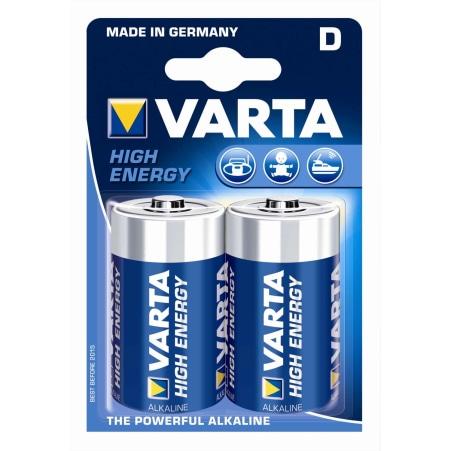 VARTA LONGLIFE Power Mono D High Energy D 2er-Packung