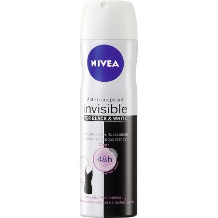 NIVEA Invisible Black & White Clear Deo-Spray