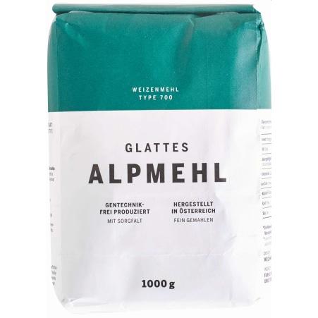 Alpmehl Weizenmehl glatt Type 700