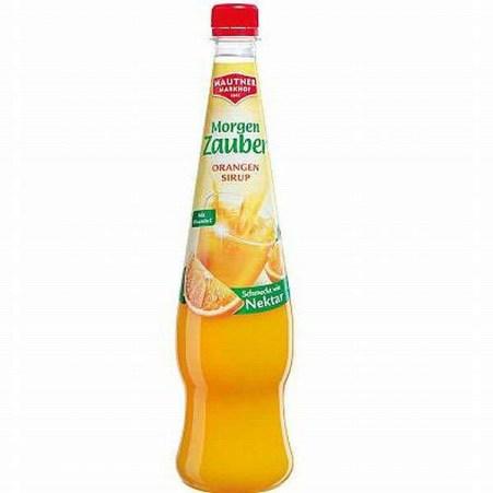 MAUTNER MARKHOF Morgenzauber Sirup Orange 0,7 Liter