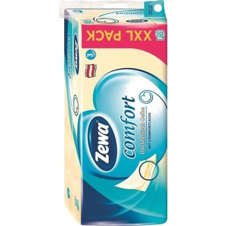 ZEWA Comfort Toilettenpapier gelb 20x 150 Blatt 3-lagig