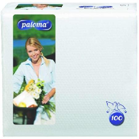 Paloma Servietten weiß 30x 30 cm 1-lagig