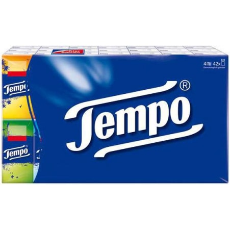 TEMPO Taschentücher Classic 42x 10 Stück 4-lagig