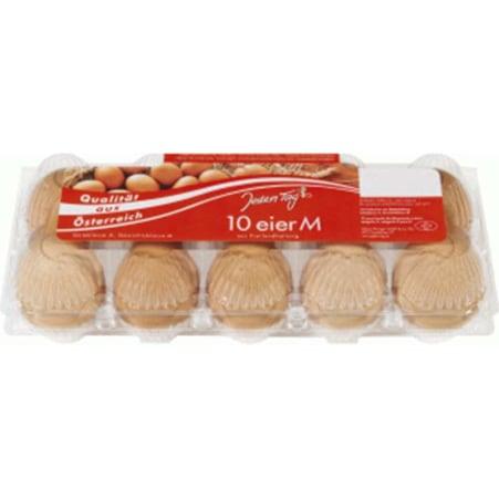 Jeden Tag Eier Bodenhaltung M 10er-Packung