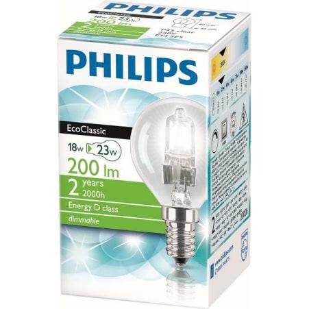 Philips Tropfen Eco Classic 18 Watt E14