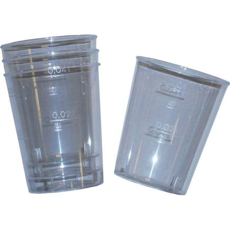 Schnapsgläser Plastik 40er-Packung