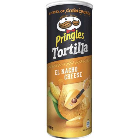 Pringles Chips Tortilla Nacho Cheese 180 gr