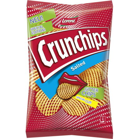 Crunchips Crunchips Gitterchips Salz