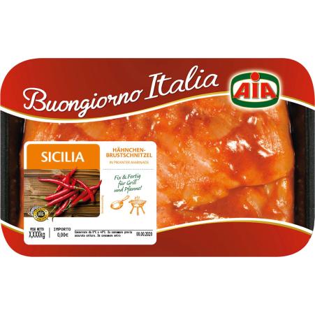 AIA Hähnchenbrust-Schnitzel Sicilia Marinade