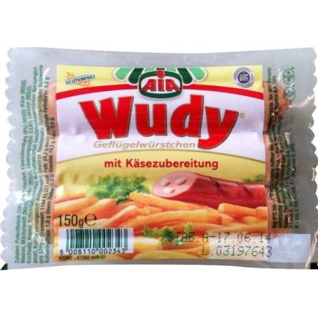 AIA Wudy Geflügelwürstchen mit Käsezubereitung