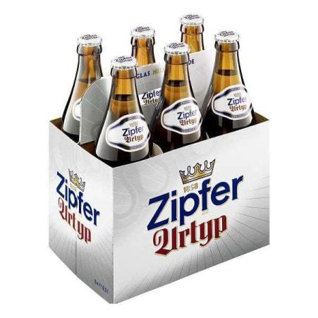 ZIPFER BIER Urtyp Tray 6x 0,5 Liter Mehrweg-Flasche