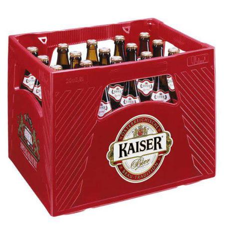 KAISER BIER Märzen Kiste 20x 0,5 Liter Mehrweg-Flasche