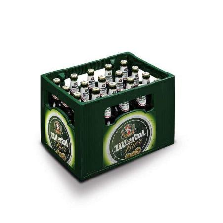 Zillertal Bier Märzen Kiste 20x 0,5 Liter Mehrweg-Flasche
