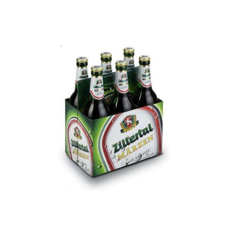 Zillertal Bier Märzen Tray 6x 0,5 Liter Mehrweg-Flasche