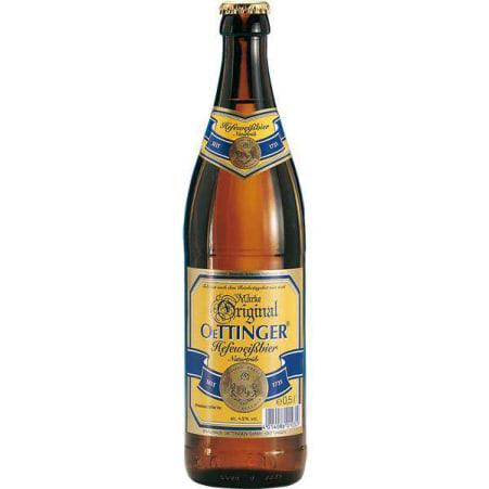 Oettinger Hefeweizen Hell 0,5 Liter