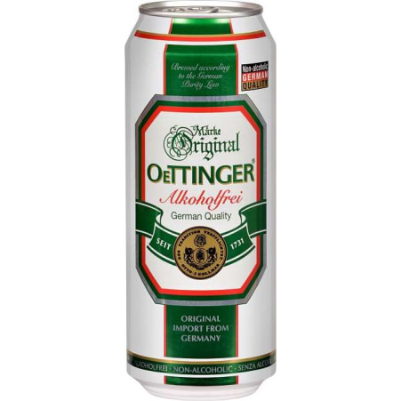 Oettinger Bier alkoholfrei 0,5 Liter Dose