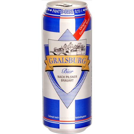 Gralsburg Pils 0,5 Liter Dose