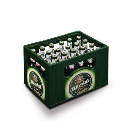 Zillertal Bier Märzen Mehrweg-Flasche Kiste 24x 0,33 Liter