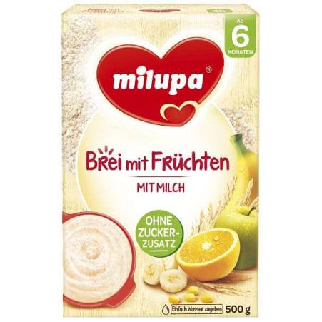Milupa Milchbrei Früchte 6. Monat