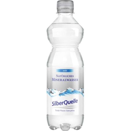 SilberQuelle Natürliches Mineralwasser mild Tray 6x 0,5 Liter