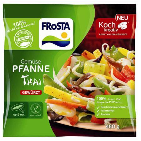 FRoSTA Gemüsepfanne Thai