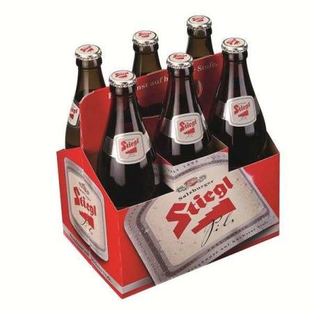 Stiegl Pils Tray 6x 0,5 Liter Mehrweg-Flaschen
