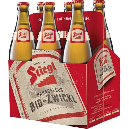 Stiegl Bio Paracelsus Zwickl Tray 6x 0,5 Liter Mehrweg-Flasche