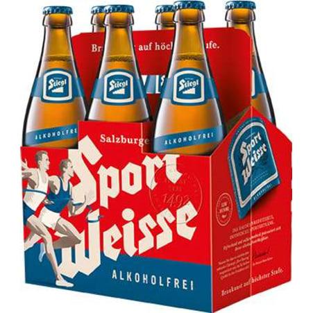 Stiegl Sport Weiße alkoholfrei Tray 6x 0,5 Liter