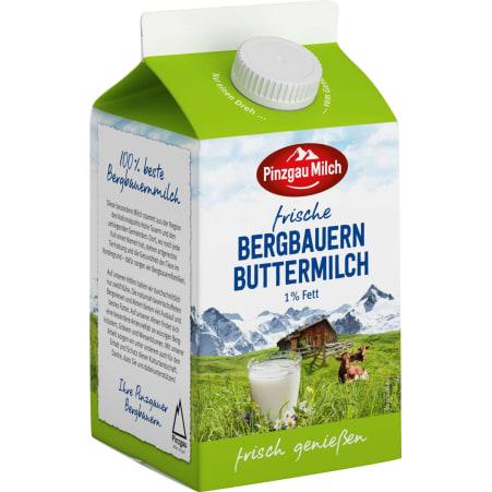 Pinzgau Milch Frische Bergbauern Buttermilch 1%