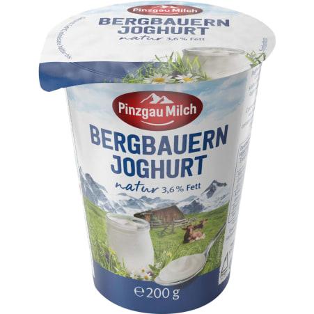 Pinzgau Milch Bergbauern Naturjoghurt 3,6%