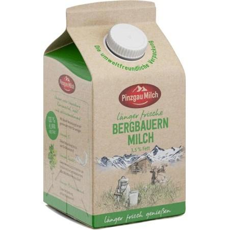 Pinzgau Milch Bergbauernmilch länger frisch 3,5% 0,5 Liter