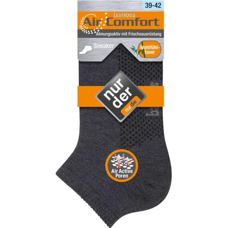 Nur Die Bambus Air Comfort Sneaker Socke